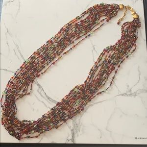 Joan Rivers 12 Strand Torsade Necklace